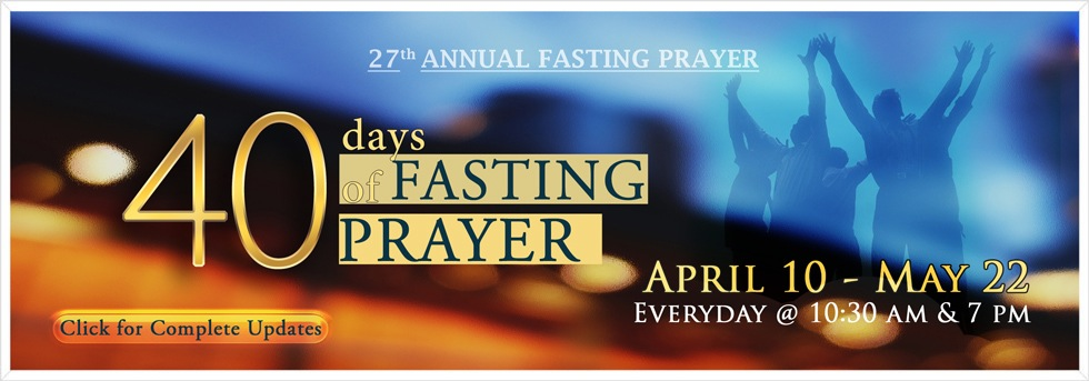 40 Days Fasting
